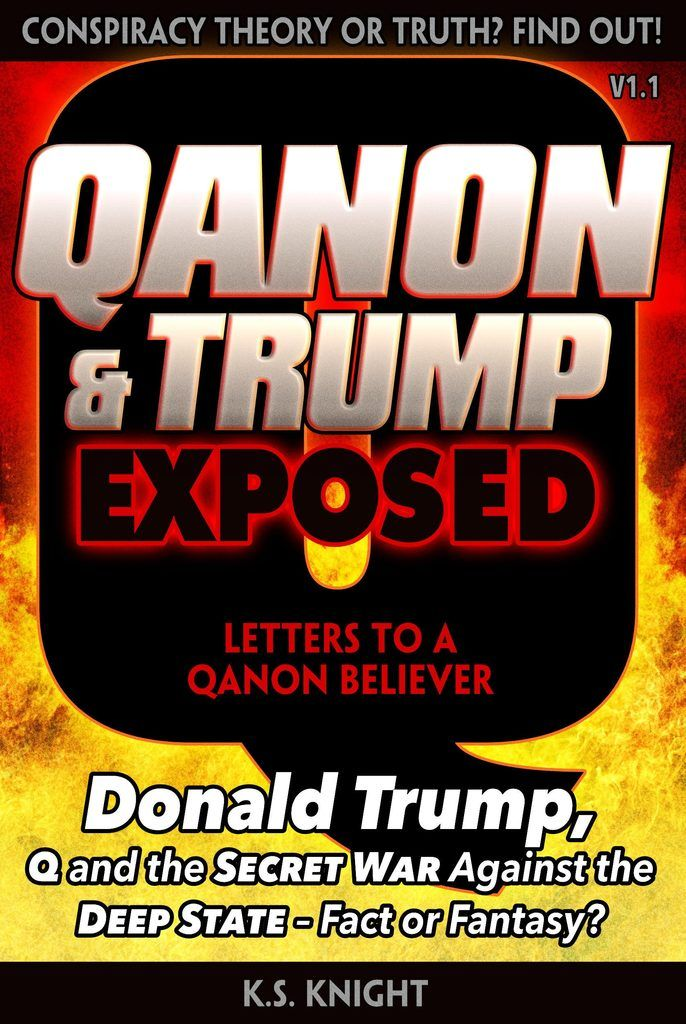 QANON TRUMP EXPOSED Amazon Kindle Cover