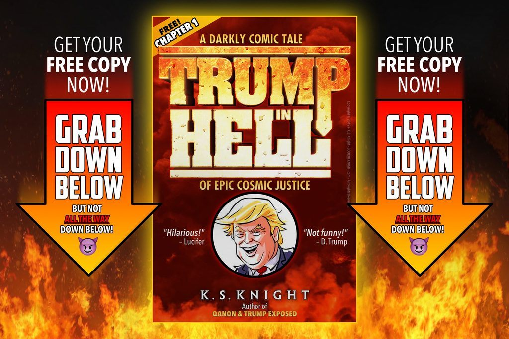 How to get Chapter 1 of TRUMP IN HELL FREE –scroll down the page!